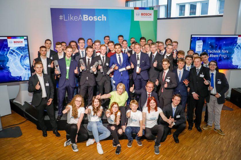Teamfoto Bosch