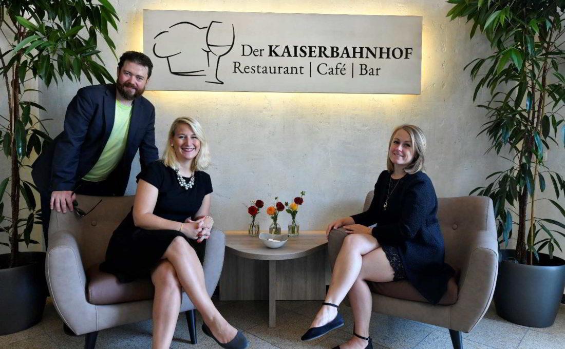 """Neueröffnung des Restaurants """"Der Kaiserbahnhof"""""""