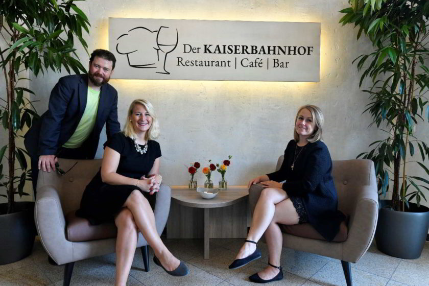 Re-opening of the restaurant 'Der Kaiserbahnhof'