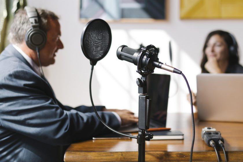 Akustische Presseaussendung Unternehmen Zukunft